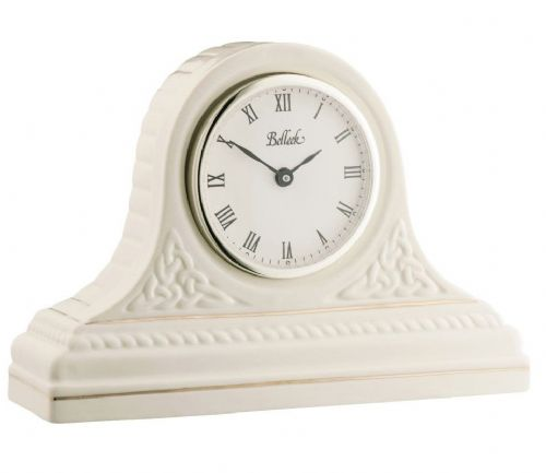 Belleek Celtic Mantel Clock